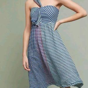 Maeve Waverly Rainbow Gingham dress, size 0